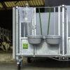 (UK) Duo calf hutch standard