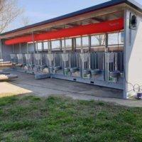 Ventilation Calf Hutch